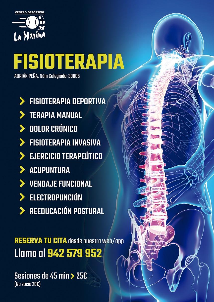 ¿Conoces nuestro servicio de fisioterapia?